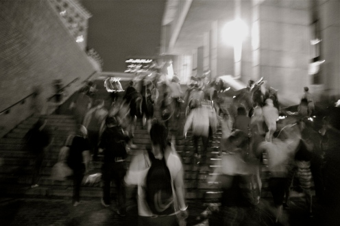 © Julia Swanson, 2012. Heading into City Hall