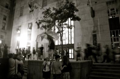 © Julia Swanson, 2012. Dancing around the John Adams Court House.