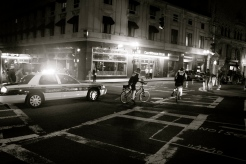 © Julia Swanson, 2012. The Boston Police Department came out to ensure us safe passage on the city streets.