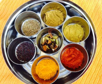 """Array of Spices"" © Mekhala Hallaster, 2014"