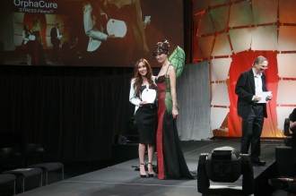 Designer Candace Wu of Team Orpha Cure which won the People's Choice